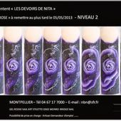 Nail art one stroke, pas à pas, tutoriels images, nails tutorial - NailartAngel