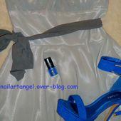 "Nail art fleurs, nail art one stroke, nail art mariage, nail art printemps, vernis LR, #mariage ""nailartangel - NailartAngel"