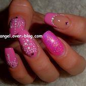Nail art baby doll, nail art girly, nail art facile, nail art pas à pas - NailartAngel