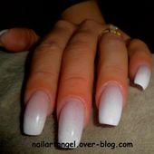 Manucure, nail art babyboomer, nail art facile, nail art pas à pas - NailartAngel