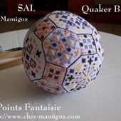 Album : Quaker Ball en Points Fantaisie - Chez Mamigoz