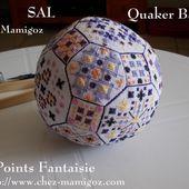 SAL Quaker Ball en Points Fantaisie , 3ème étape - Chez Mamigoz