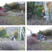 Gros travaux d'automne au Jardin de Fille - Chez Mamigoz