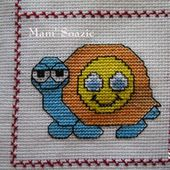 Plaid Tortue : Tortue Smiley - Chez Mamigoz