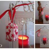 Le Petit Chamois aux Edelweiss dans votre Sapin de Noël - Chez Mamigoz