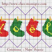 Un nouveau petit fuseau....Bottes de Noël et Mimosa - Chez Mamigoz