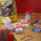 Fabriquez des boules de graisse pour les Oiseaux du Jardin - Chez Mamigoz
