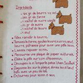 Livre Recettes Brodées de Mamigoz : Biscuits Scottish - Chez Mamigoz