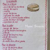Livre Recettes Brodées de Mamigoz : La Tropézienne - Chez Mamigoz
