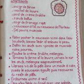Livre Recettes Brodées de Mamigoz : Saucisson en brioche - Chez Mamigoz