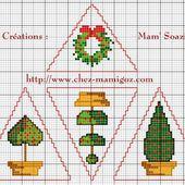 Déco Triangle pour Sapin de Noël : Topiaire de Houx - Chez Mamigoz