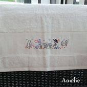 """Les serviettes d'Amélie """" So Breizh """" - Chez Mamigoz"""