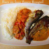 Bars au four, tomates , Sauce Rougail - Chez Mamigoz