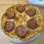 Tarte Normande Crémeuse aux Pommes et Andouille de Vire - Chez Mamigoz