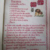 Livre Recettes Brodées de Mamigoz : Paupiettes de porc au Rivesaltes - Chez Mamigoz