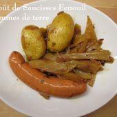 Ragoût de Saucisses fumées au Fenouil et Pommes de terre - Chez Mamigoz