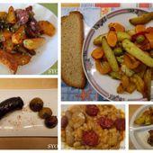 Petits Potins simples et sains: Autour des légumes et Chorizo à l' Actifry - Chez Mamigoz