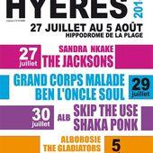 Festival'Hyères (suite et fin): Alborosie, The Gladiators et Collie Budzz! - Les écrits d'un poète français