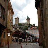 Des rues au château de Foix - Autour de