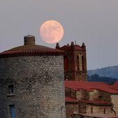 Pleine lune et Montner le 24 décembre 2015 - Autour de