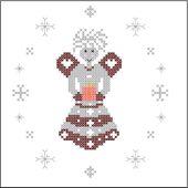 Grille de Noël offerte - Un petit fil