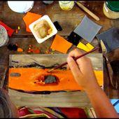 Mosa-paint avec Elisabeth Ragon (2/2) - Les mosaïques des minoutes