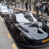 Supercars aperçues à Paris en 09/14: P1, Laferrari, Veyron légende, SLR 722... - Ultimate Supercars