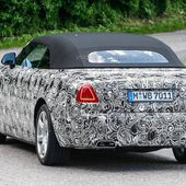 Rolls Royce Dawn 2016 - la sportive cheveux au vent - Ultimate supercars