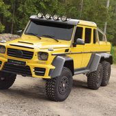 Mercedes G63 AMG 6x6 Mansory - colossal - Ultimate supercars