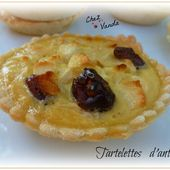 Tartelettes d'antan - Chez Vanda