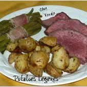 Potatoes légères - Chez Vanda