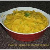 Purée de panais et carottes persillées  - Chez Vanda
