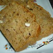 Cake aux fibres et aux amandes - Chez Vanda