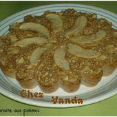 Gateau d'avoine aux pommes ( et ses variantes) - Chez Vanda