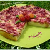 Cuajada rhubarbe framboises - Chez Vanda
