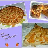 Clafoutis céréalier aux abricots ( en 2 versions ) - Chez Vanda