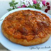 Gâteau léger aux abricots - Chez Vanda