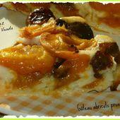 Gâteau abricots pruneaux - Chez Vanda