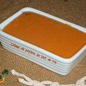 Crème de potiron au lait de riz - Chez Vanda