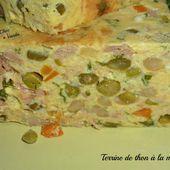 Terrine de thon à la macédoine - Chez Vanda
