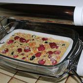 Porridge aux fruits rouges - Chez Vanda