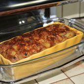 Cake pommes myrtilles aux flocons d'épeautre - Chez Vanda
