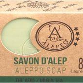 Savon d'Alep THE VERT - Sous les chênes ...
