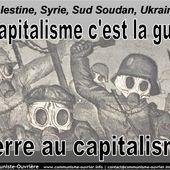 Contre le militarisme, pour la Paix et la Liberté ! - Socialisme Libertaire