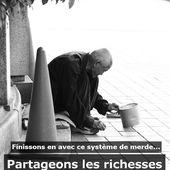 Partageons les richesses, pas la misère ! - Socialisme Libertaire