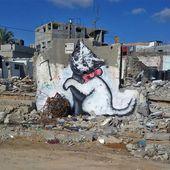 Gaza sous les bombes de Banksy - Socialisme libertaire
