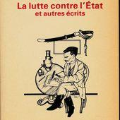 ★ LA LUTTE CONTRE L'ETAT - Socialisme libertaire