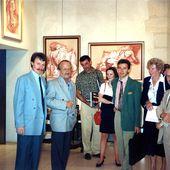 Biennale et Atelier de gravure 1993 - Images d'archives et correspondance