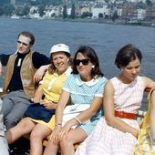Jeunes filles des années 70 - C'est la vie ! Images d'archives