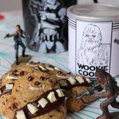 Des super Wookie Cookies parce que #WeLoveStarWars...